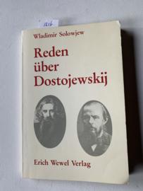Reden über Dostojewskij | Wladimir Solowjew | uitgever: Erich Wewel Verlag Munchen |  ISBN 9783879041105 ||
