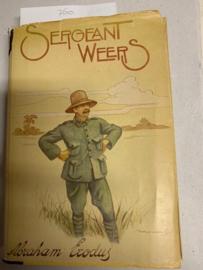Sergeant Weers en de zijnen | Abraham Exodus | M. H. Du Croo | Herdruk van 1930 |