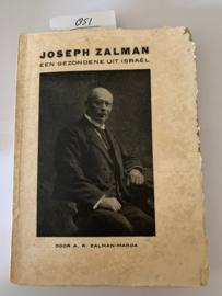 Een Gezondene uit Israël, Joseph Zalman   A. R. Zalman-Marda   1934   J. N. Voorhoeve, Den Haag - MCMXXXIV  