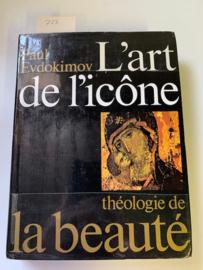 L' art de l'icône théologie de la Beauté | Paul Evdokimov | 1972 | uitgever Desclée de Brouwer |