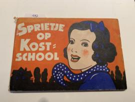 Sprietje op Kostschool | Hermy Brugman | Serie G | Uitgever: Goede Lectuur Amsterdam |