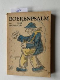 Boerenpsalm | Felix Timmermans | Uitgever: P. N. van Kampen & Zoon N.V. |
