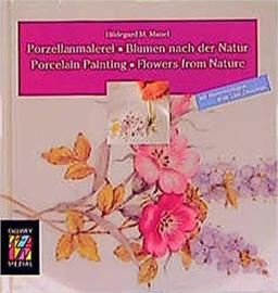Porzellanmalerei. Blumen nach der Natur.