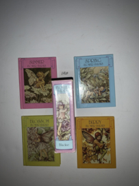 Flower Fairies Miniature Library x 4 Books in Slip-cassette   Cicely Mary Barker   1981   Blackie & Son Limited    