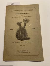 Natuurlijke historie voor de Nederlandsche scholen    Tweede stukje   het planten- en delfstoffenrijk   Bosch, D.W. & Degenhardt, W.   1864   3e Druk   uitgever. J . H Gebhard & Co  