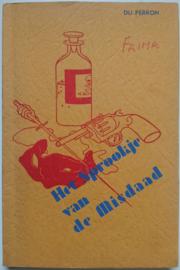 E. Du Perron│Het sprookje van de misdaad│Kolff│Amsterdam, 1938