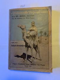 Afrikaanse Vulpenkrassen | Dr. Bernard Zuure van de sociëteit  der witte Paters | 1923 | vijfde serie | Uitgave Drukkerij Firma Wilhelm van Eupen Boxtel |