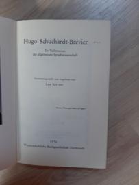 Hugo Schuchardt-Brevier │ Ein Vademecum der allgemeinen Sprachwissenschaft │ Unveränderter reprografischer Nachdruck der 2., erweiterten Auflage, Halle (Saale) 1928 │ Max Niemeyer Verlag, Tübingen│ 1976