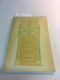 'k zal gedenken | W.A. Deurman | 53 pp | 1946 |  softcover | Meester Schabergschool