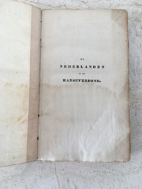 De Nederlanden en het Hanseverbond - Frans Ernst Berg - 1833