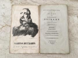 Levensschetsen en daden van beroemde Grieken - Marcos Botzaris - 1826