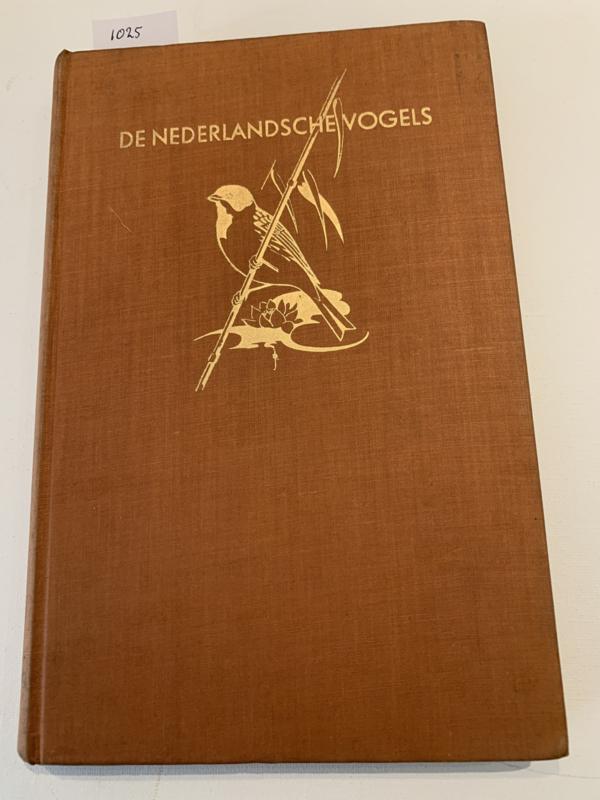 De Nederlandsche vogels | 1e (Raaf &  Koekoek) en 2e deel (Uilen - Duiven) | Detimineerlijst, kenm., korte beschrijving en veldkenmerken, broedgegevens, verblijf | 1941 |1e druk | Dr.C. Eykman e.a. | Uitgave: Wageningsche Boek- en Handelssdrukkerij N.V. |
