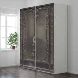 METAL ORNAMENT DOOR