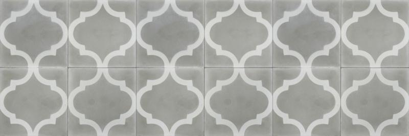 Cement tile Grey