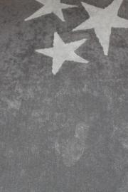 Tapijt beige grijze ster