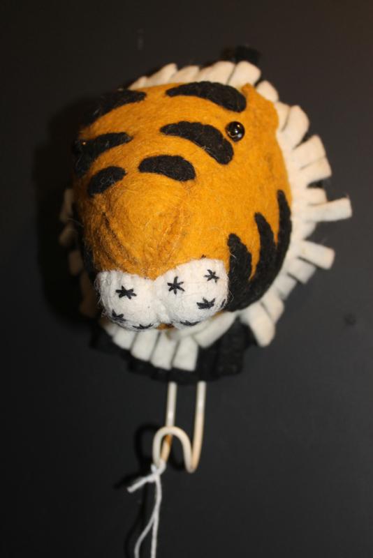 Kledinghaakje tijger