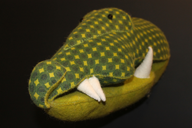 Dierenhoofd krokodil