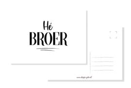 Kaart Hè Broer