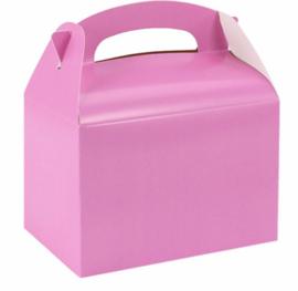 Traktatie/ Uitdeel doosje Pink