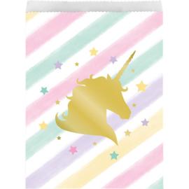 Magical Unicorn traktatie zakje