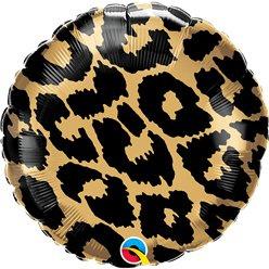 Luipaard folie ballon