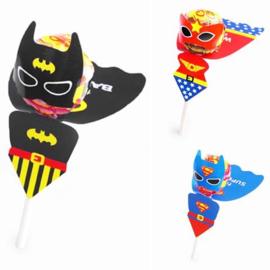 Batman Superman Wonder Woman lolly houders