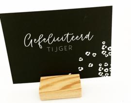 Gefeliciteerd Tijger
