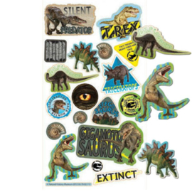 Dinosaurus sticker vel