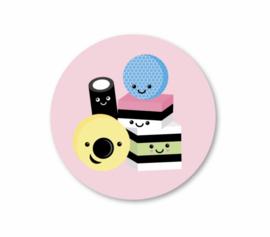 Sticker Engelse drop