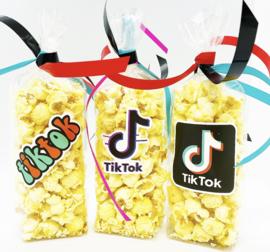 Tik Tok popcorn zakjes
