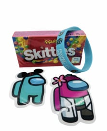 Among Us Skittles
