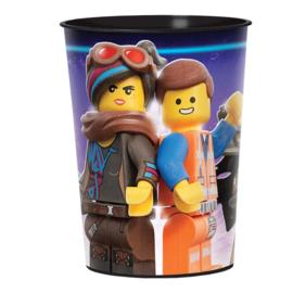 Grote Lego Movie 2 traktatie beker