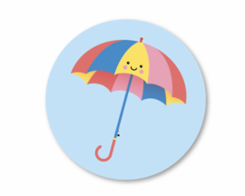 Sticker Aju Paraplu