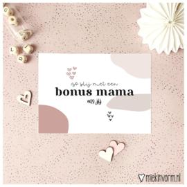 Kaart bonus mama
