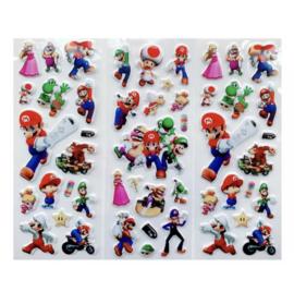 Mario Bros stickers