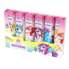 Unicorn chocolade reepjes