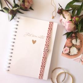 Elastiek Hearts voor Notitieboek