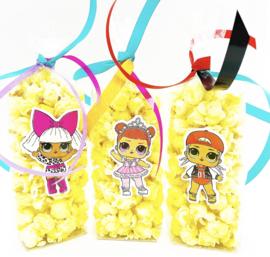 L.O.L. Surprise popcorn zakjes