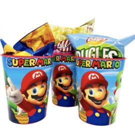 Super Mario traktatie beker