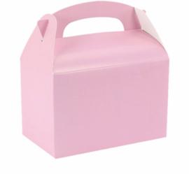 Traktatie / Uitdeeldoosje Baby Roze