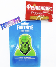 Brievenbus traktatie Fortnite / gum