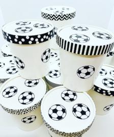 Voetbal bakjes