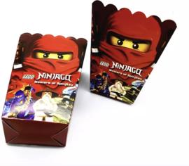 Ninjago Popcorn bakjes