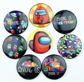 Among Us Button