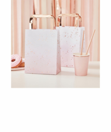 Party bag Pink/Gold