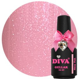 Diva Gellak Shiny Pink 15 ml