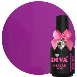 Diva Gellak Fresh Violet 15 ml
