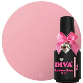 Diva Rubberbase Pink 15ml
