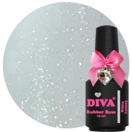 Diva Rubberbase White Luxury 15ml