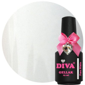 Diva Gellak Pure White 15 ml